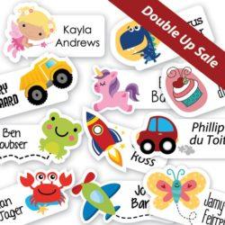 Variety Sticker Labels