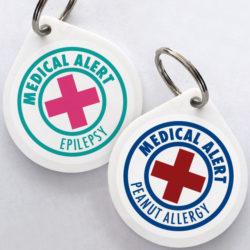 Medical Alert Bag Tags